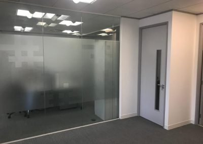 office partitions carried out by J.U.S.T Partitioning Birmingham