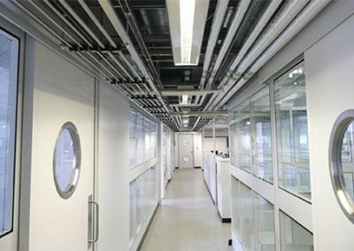 hygienic partitioning, clean rooms, saftey glass, partitioning birmingham2