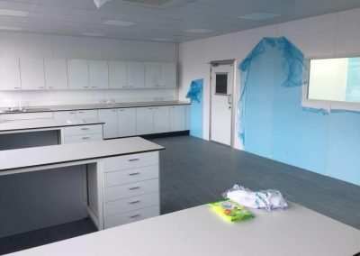 hygienic wall cladding partitioning
